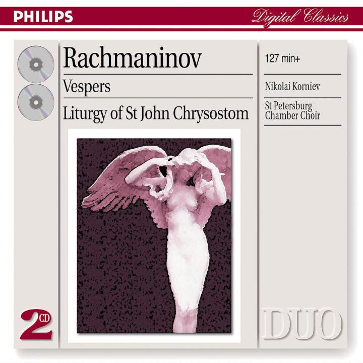 Rachmaninov: Vespers & Liturgy of St. John Chrysostom 0028947522722