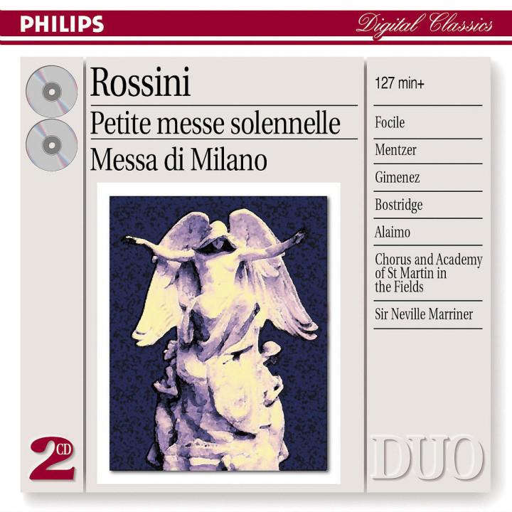 Rossini: Petite Messe Solenelle/Messa di Milano 0028947523022