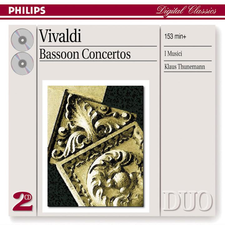 Vivaldi: Bassoon Concertos 0028947523321