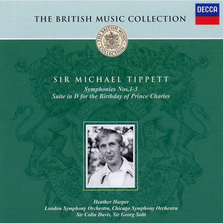 Symphonies Nos. 1-3; Suite in D for the Birthday of Prince Charles 0028947309226