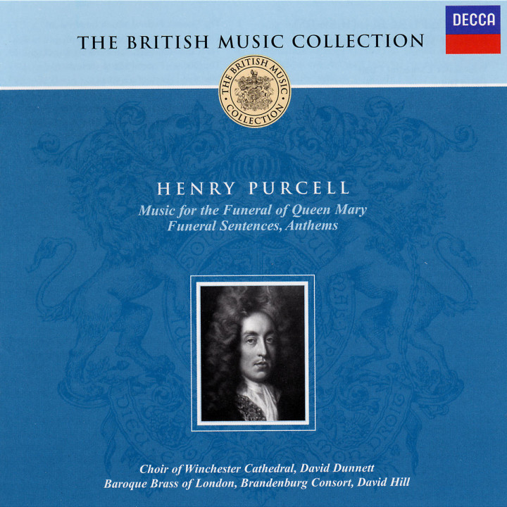 Music for the Funeral of Queen Mary; Funeral Sentences; Anthems 0028947505028