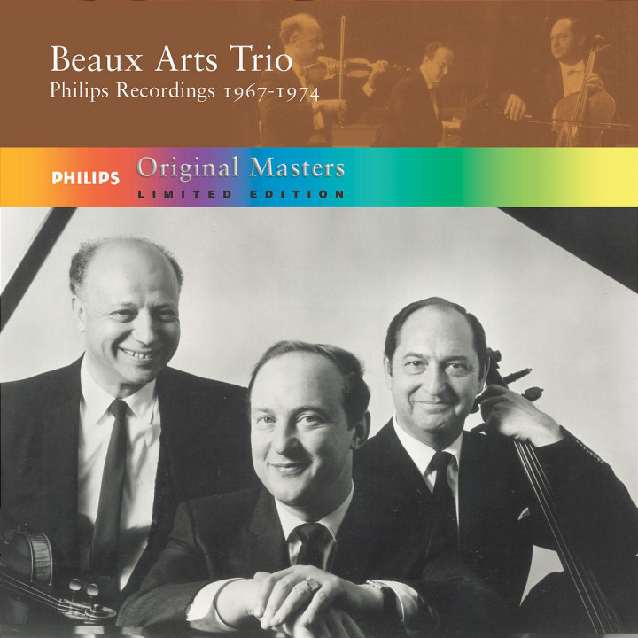 Beaux Arts Trio: Philips Recordings 1967 - 1974 0028947517126