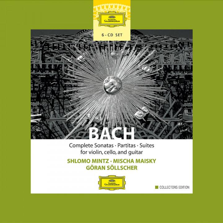 Bach: Complete Sonatas, Partitas & Suties for Violin, Cello & Guitar 0028947464127