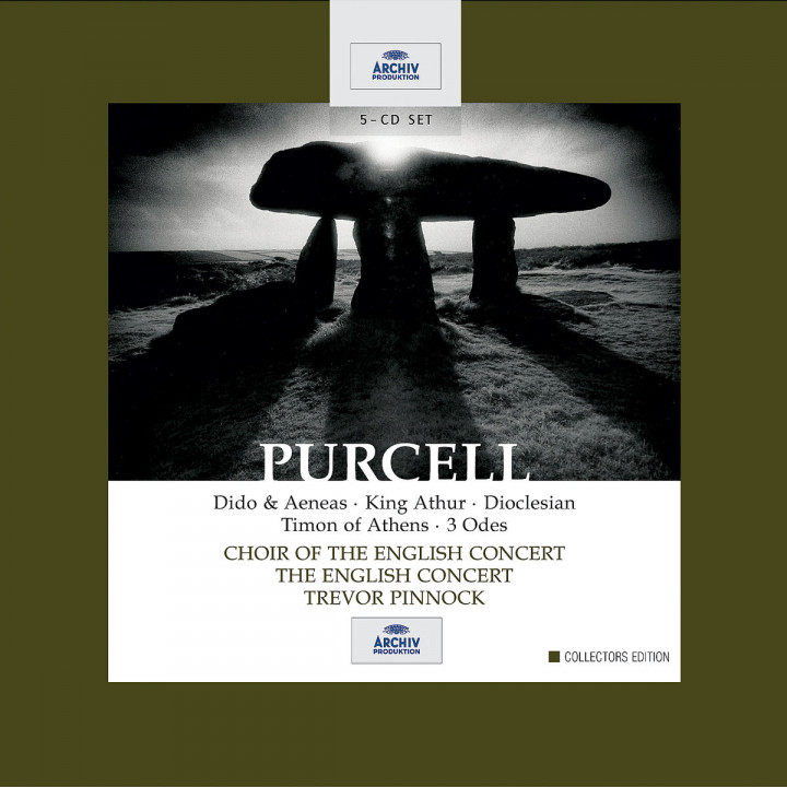 Purcell: Dido & Aeneas / King Arthur / Dioclesian / Timon of Athens / 3 Odes 0028947467223