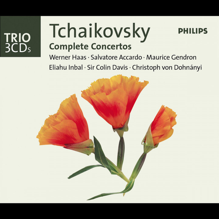 Tchaikovsky: The Complete Concertos 0028947525622