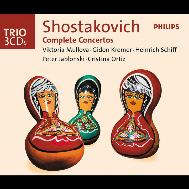 Shostakovich: The Complete Concertos 0028947526025