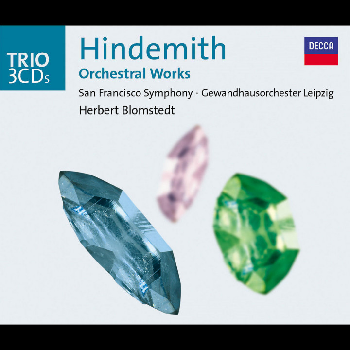 Hindemith: Orchestral Works 0028947526427