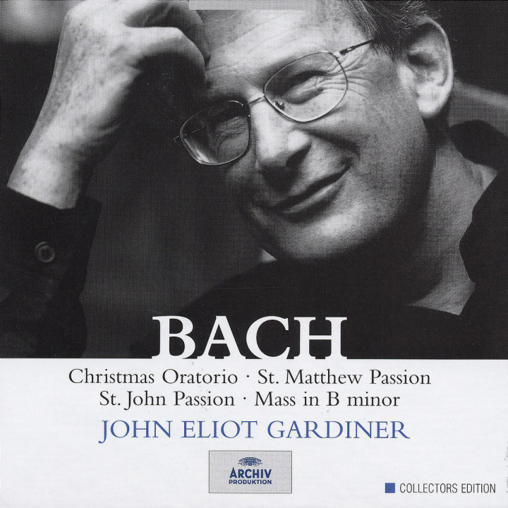 Bach, J.S.: Christmas Oratorio; St. Matthew Passion; St. John Passion; Mass in B minor 0028946976928