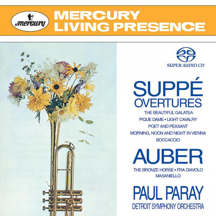 Auber & Suppé Overtures 0028947063823