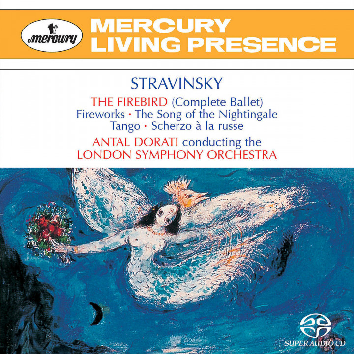 Stravinsky: The Firebird etc 0028947064329