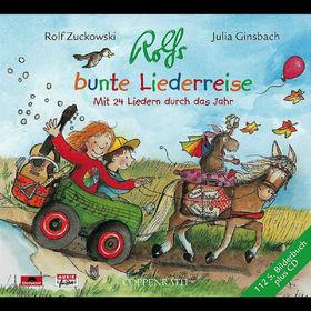 Rolf Zuckowski, Rolfs Bunte Liederreise, 00602498659915