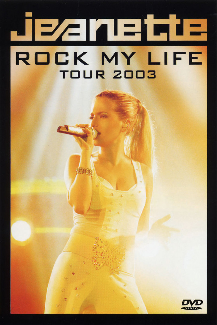 """Jeanette In Concert: """"Rock My Life Tour 2003"""" 0602498660018"""
