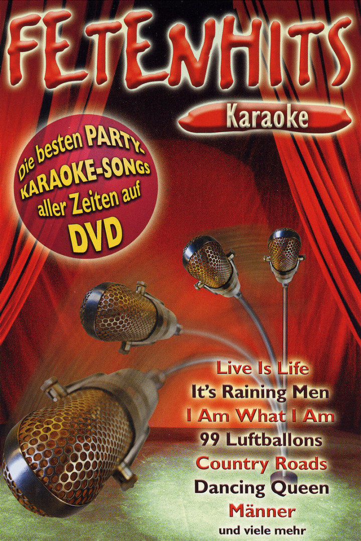 Fetenhits Karaoke 0602498148819