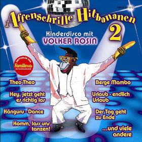 Volker Rosin, Affenschrille Hitbananen 2, 00602498161517