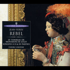 Jan Garbarek, Le Tombeau De M. De Lully, Sonates A 2&3 Parties, 00028946594421