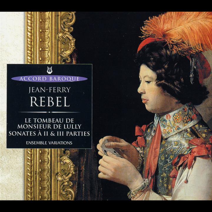 Le Tombeau De M. De Lully, Sonates A 2 & 3 Parties 0028946594423
