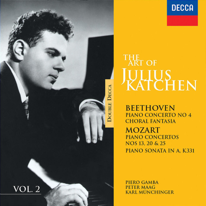 The Art Of Julius Katchen Vol.2 0028946082526
