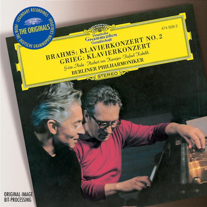 Brahms: Piano Concerto No. 2 / Grieg: Piano Concerto 0028947483823
