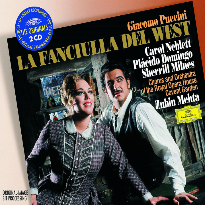 Puccini: La Fanciulla del West 0028947484020