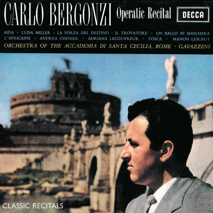 Carlo Bergonzi Recital 0028947539227