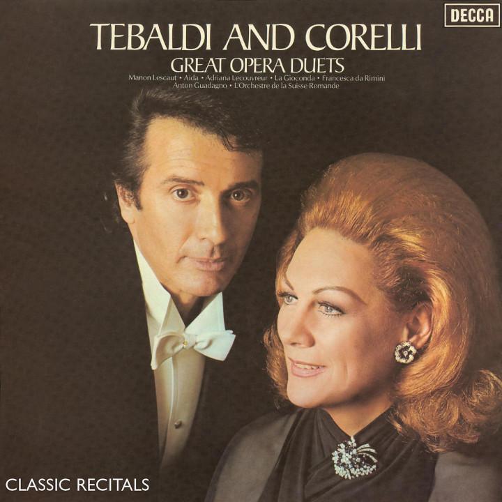Tebaldi & Corelli: Classic Recital 0028947552226