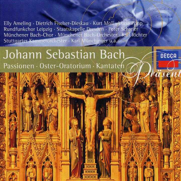 Präsent: 3 CD-Set: Passionen und Osterkantaten