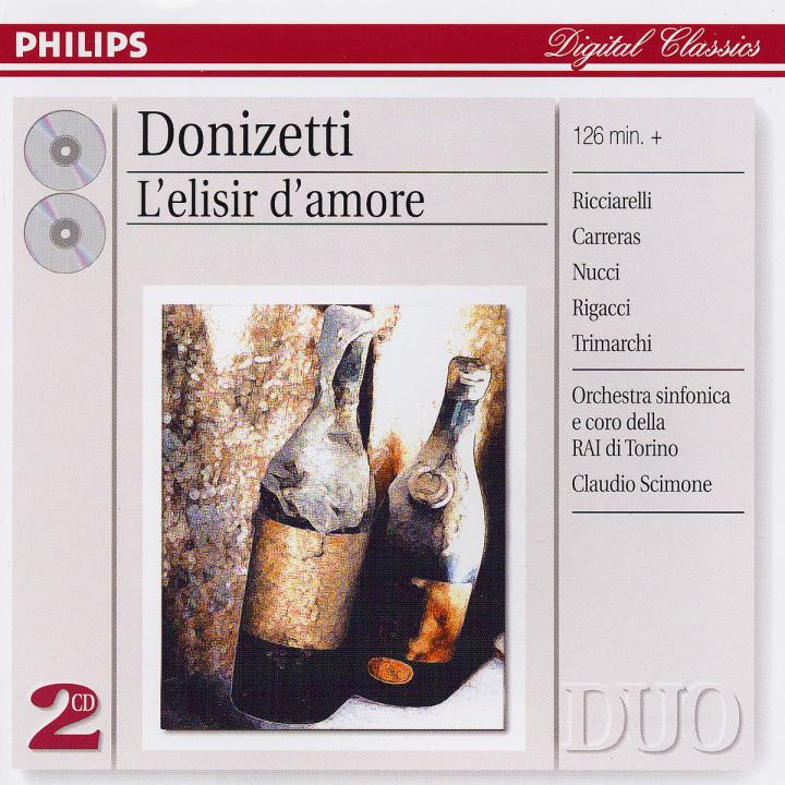 Donizetti: L'Elisir d'amore 0028947544225