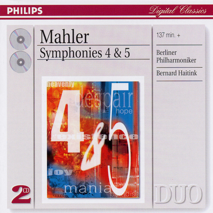 Mahler: Symphonies Nos.4 & 5 0028947544524