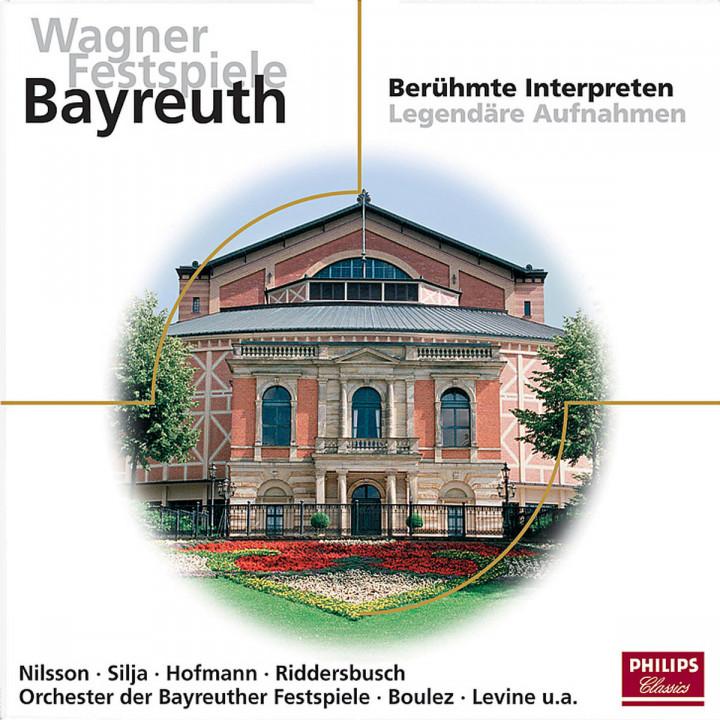 Wagner Festspiele Bayreuth - Berühmte Interpreten; Legendäre Aufnahmen 0028947618999