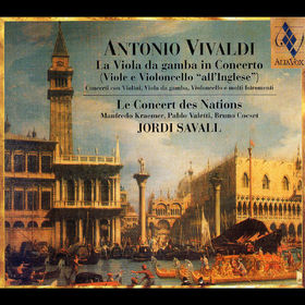 Antonio Vivaldi, La Viola da gamba in Concerto, 07619986098357