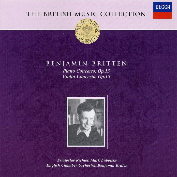 Britten: Piano Concerto; Violin Concerto 0028947371528