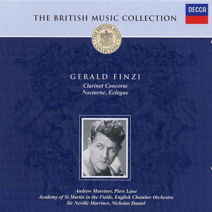 Finzi: Clarinet Concerto/Nocturne/Eclogue 0028947371920