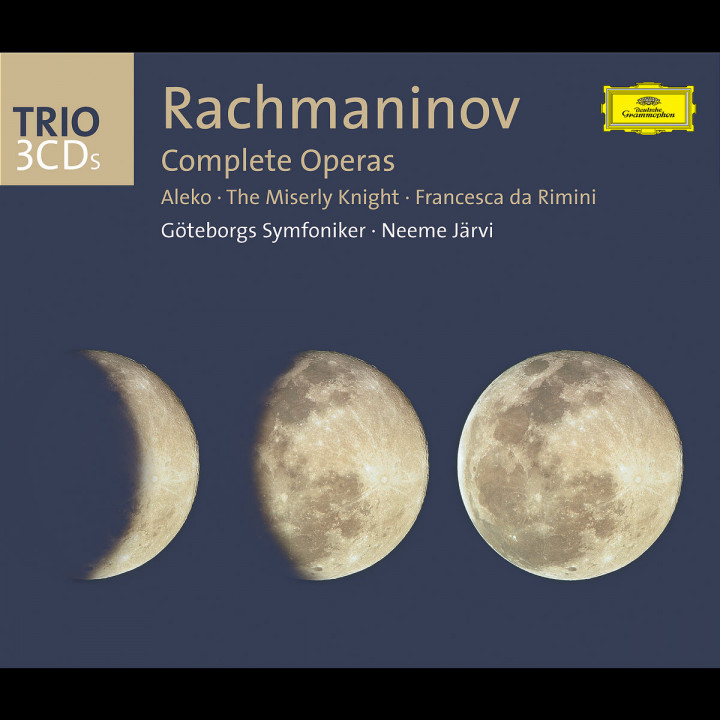 Rachmaninov: The Operas (Aleko; The Miserly Knight; Francesca da Rimini) 0028947704122