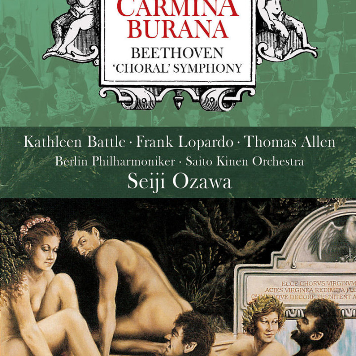 Orff: Carmina Burana/Beethoven: Choral Symphony 0044007430608