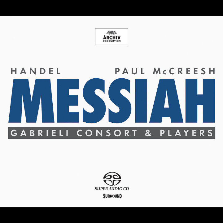 Handel: Messiah HWV56 0028947706629