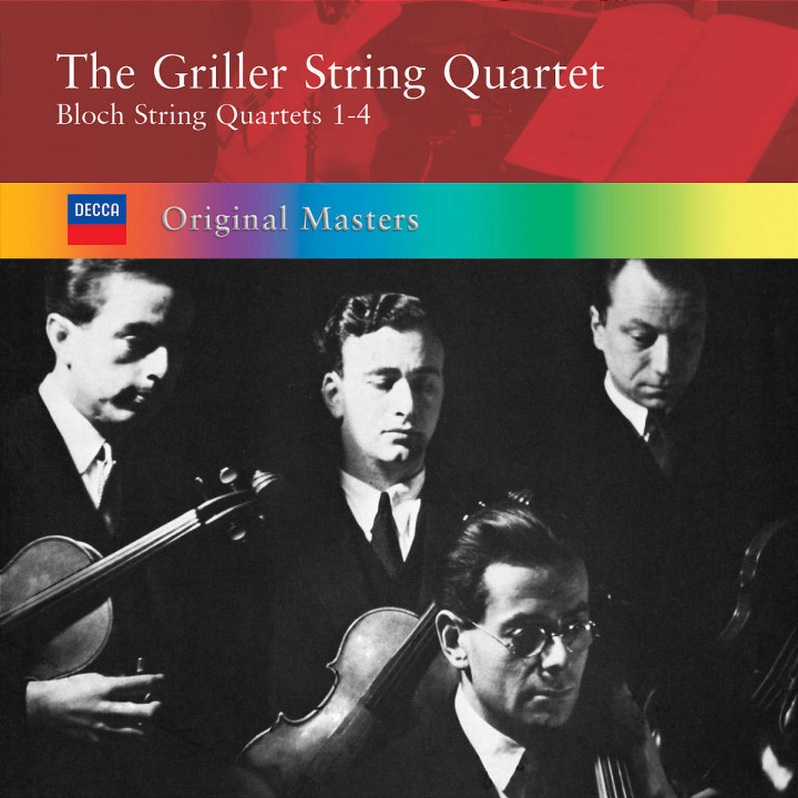 Bloch: String Quartets 0028947560711