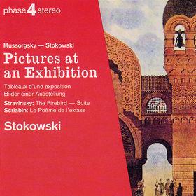 Modest Peter Mussorgsky, Bilder einer Ausstellung, Der Feuervogel, Poème de l'extase, 00028944389821