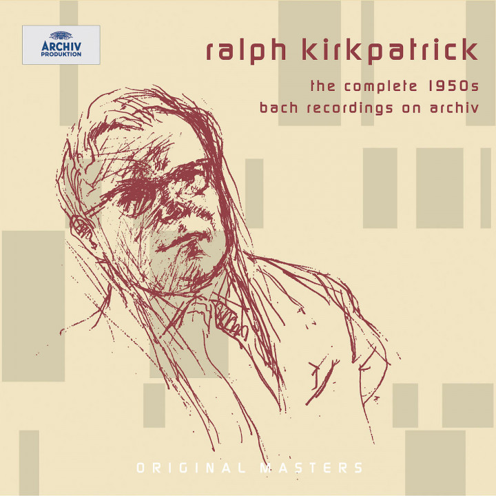 Ralph Kirkpatrick - The complete 1950s Bach recordings on Archiv 0028947701325