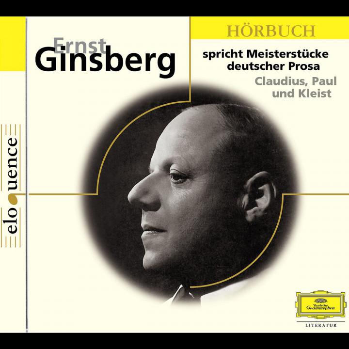 Ernst Ginsberg spricht Meisterstücke Deutscher Prosa 0602498197226