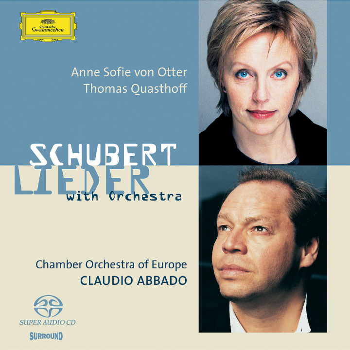 Schubert: Orchestrated Songs 0028947708322