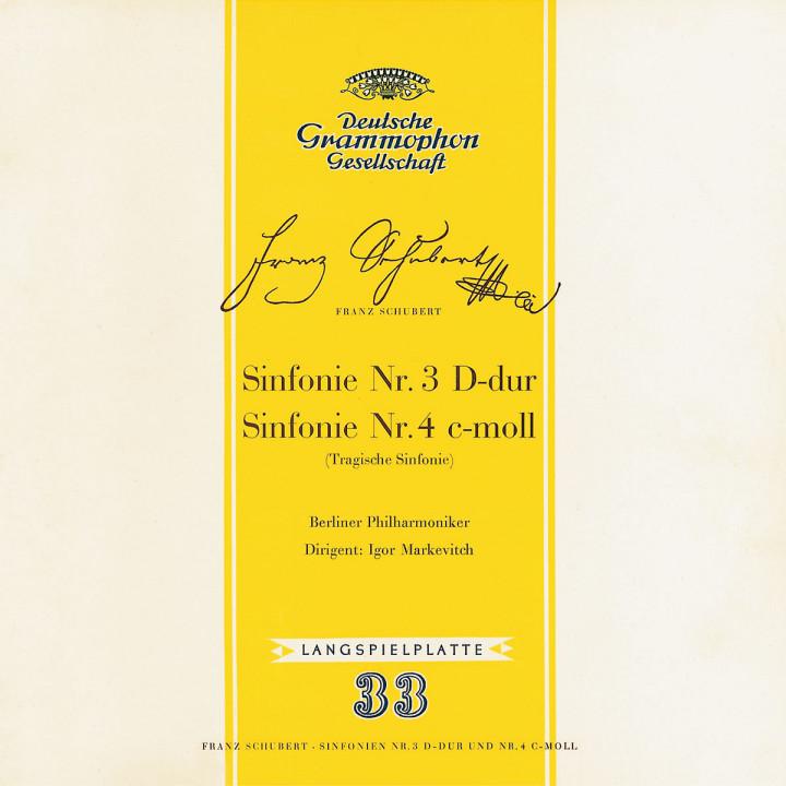 Schubert: Symphonies Nos.3 & 4 0028947498522