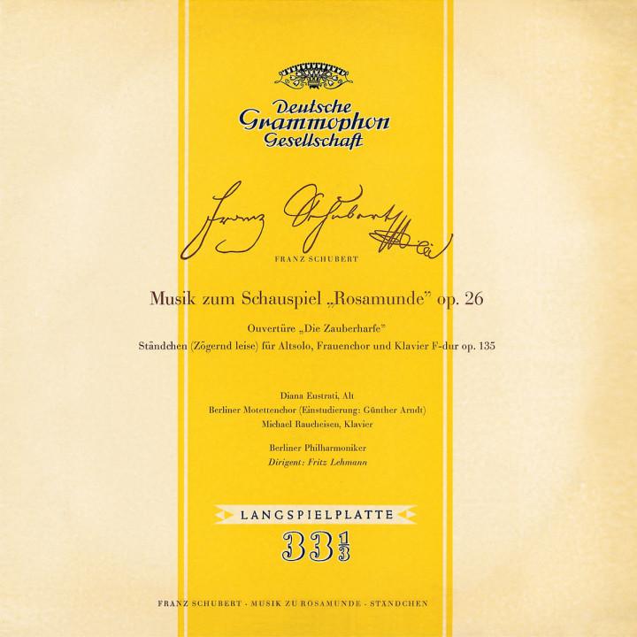 """Rosamunde; Ouvertüre """"Die Zauberhafte""""; Ständchen 0028947498625"""