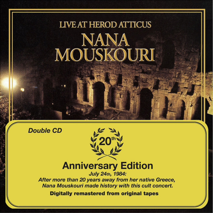 Live At Herod Atticus - 20th Anniversary Edition 0602498208760