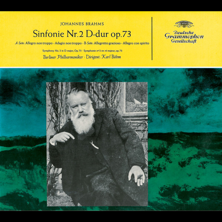 Brahms: Symphony No.2 / Reger: Variations on a Theme by Mozart 0028947498924