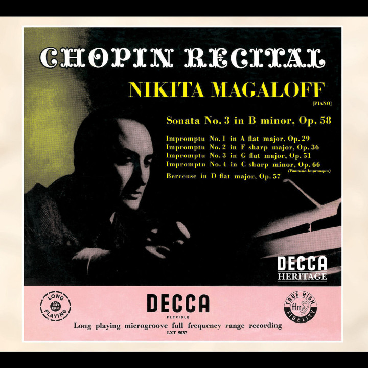 Chopin Recital 0028947561572