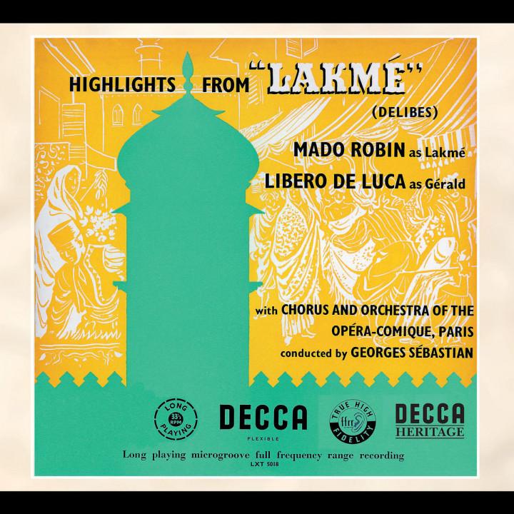 Delibes: Lakmé (Highlights) 0028947561583