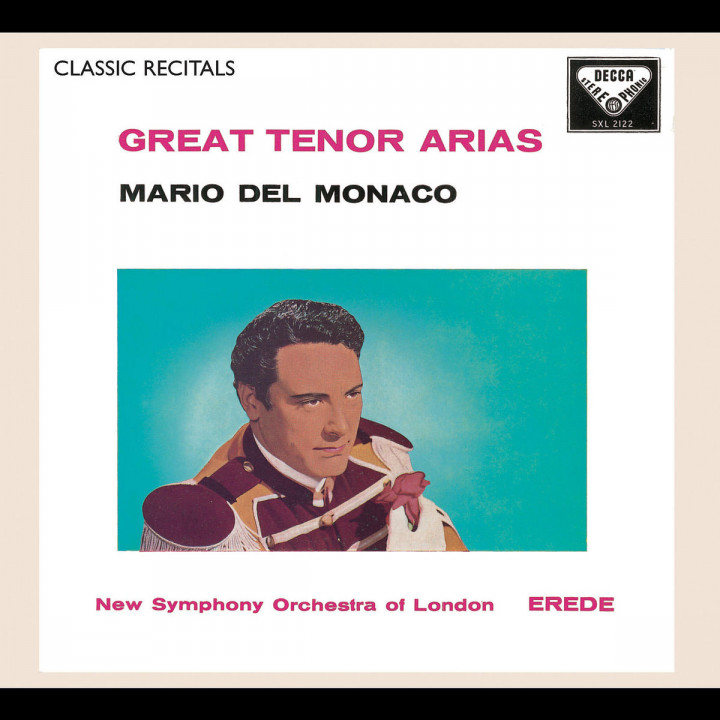 Mario del Monaco: Great Tenor Arias 0028947562344