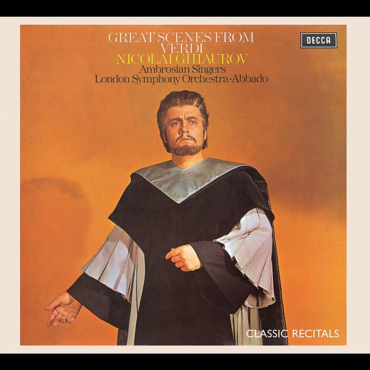 Nicolai Ghiaurov - Great Scenes from Verdi Operas 0028947562805
