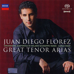 Juan Diego Flórez, Juan Diego Florez / Great Tenor Arias, 00028947561873
