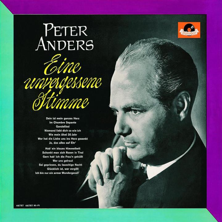 Peter Anders - eine unvergessene Stimme 0028947626794
